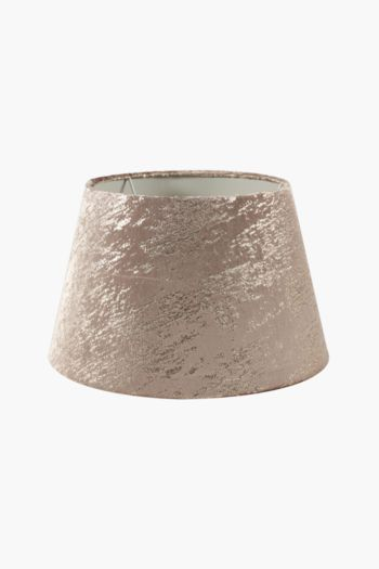 Textured Tapered Lamp Shade, Medium