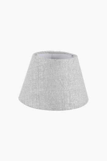 Textured Tapered Lamp Shade, Extra Small