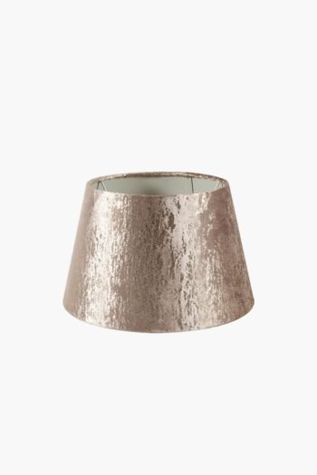 Textured Tapered Lamp Shade, Small