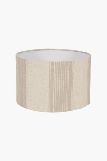 Jacquard Drum Lamp Shade, Medium