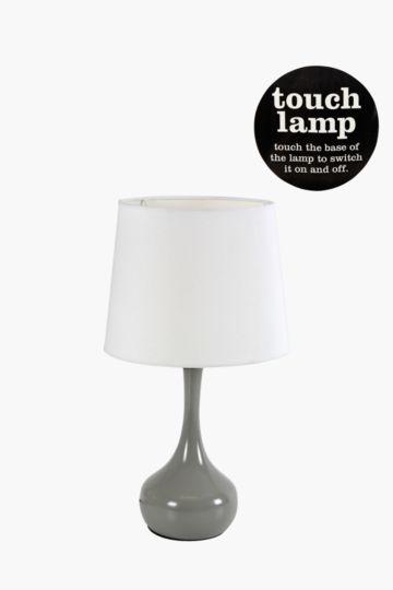 Bulb Metallic Touch Lamp Set
