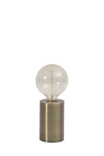 Brass Metal Table Lamp Set