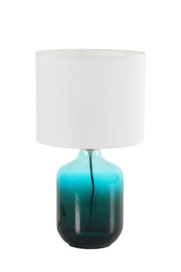 Ombre Glass Lamp Set