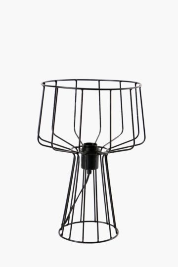 Wire Shade Lamp Set