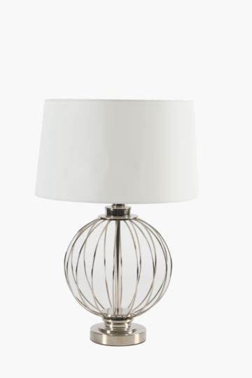 Wire Orb Lamp Set