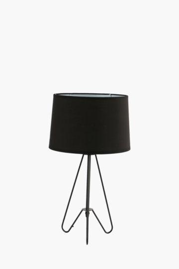Wire Tripod Lamp Set