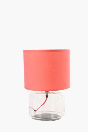 Aruba Glass Base Lamp Set