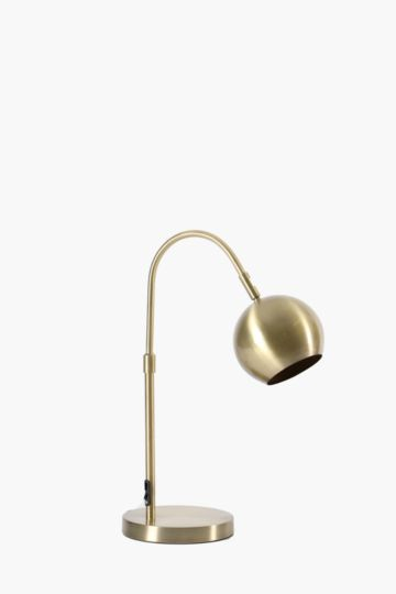Round Metal Desk Lamp