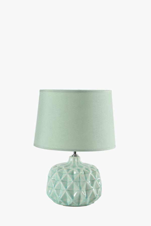 Pincushion Ceramic Lamp Set