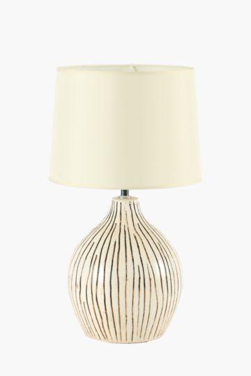 Stripe base lamp set