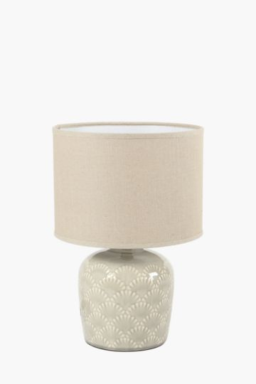 Ceramic Base Lamp Set