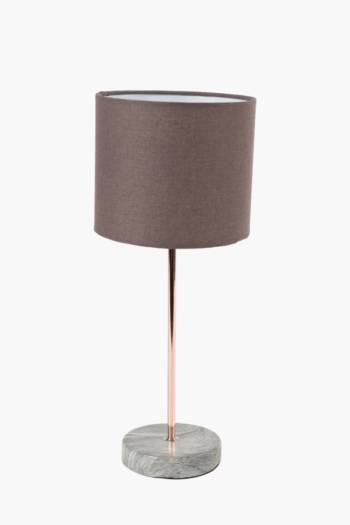 Metal Table Lamp Set