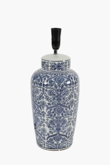 Delft Ceramic Lamp Base