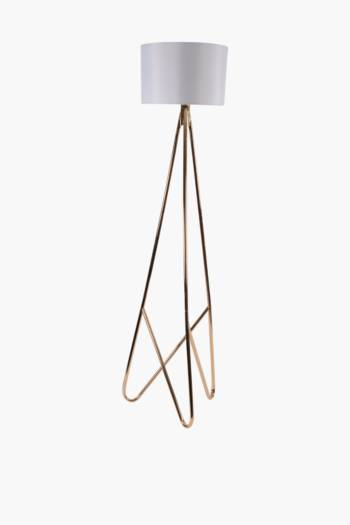 Metal Hair Pin Standing Lamp Set