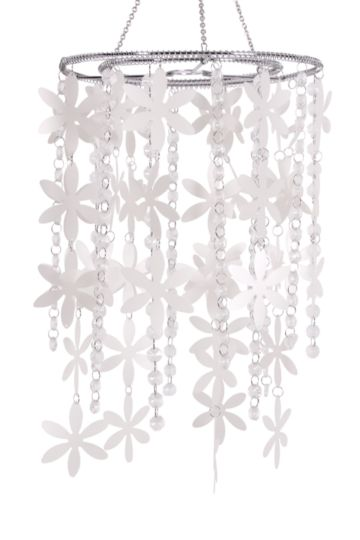 Flower Beaded Chandelier