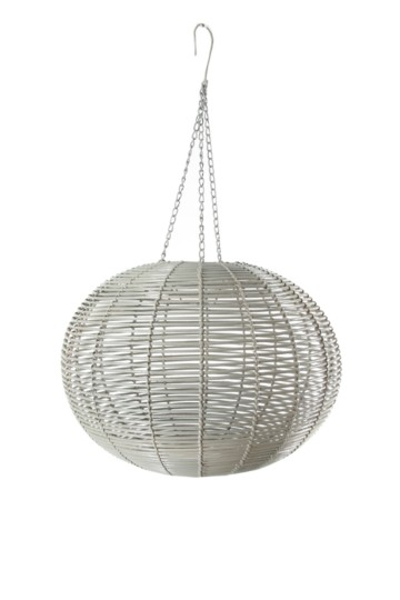 Ribbed Oval Hanging Pendant Ceiling Shade