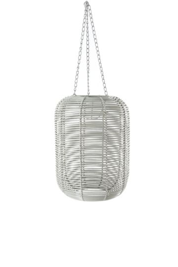 Ribbed Round Hanging Pendant Ceiling Shade