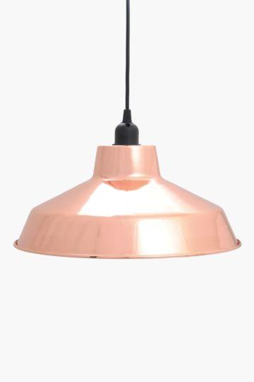 Industrial Metal Dome Hanging Pendant