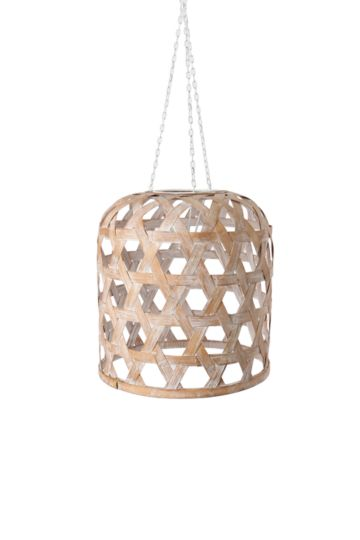 Bamboo Basket Hanging Shade Medium