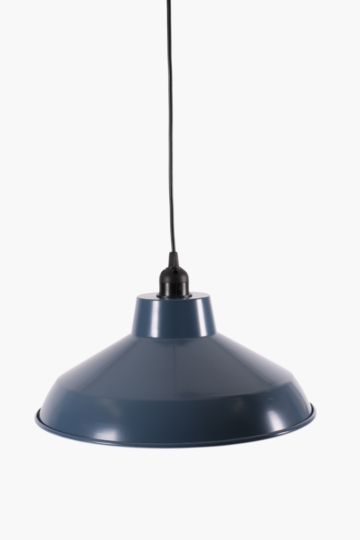 Industrial Metal Dome Hanging Pendant