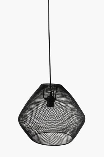 Metal Wire Hanging Pendant Medium