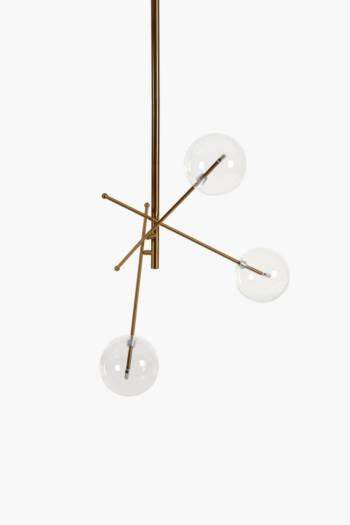 Lunar Metal Hanging Pendant