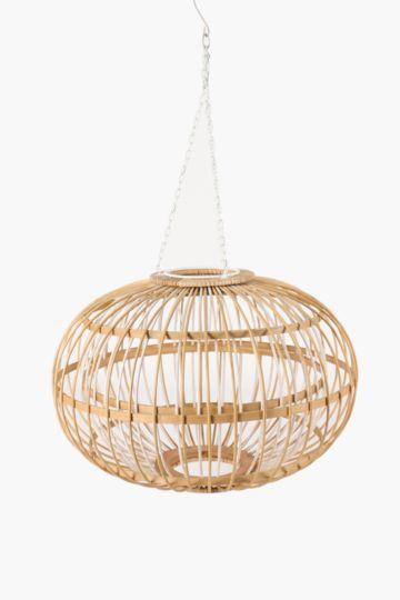 Ceiling lights chandeliers pendant lights mrp home bamboo crisscross hanging shade medium aloadofball Images