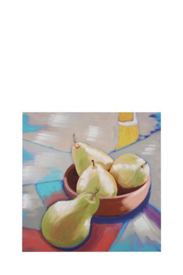 Fruit Bowl 40x40cm Wall Art