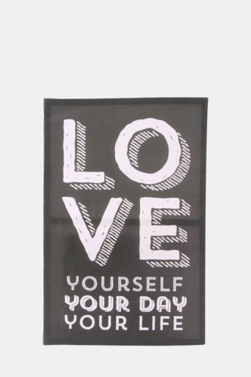 Love Yourself 60x40cm Wall Art