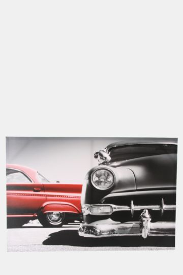 Vintage Cars 60x90cm Wall Canvas