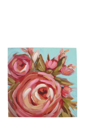 Flowers 40x40cm Wall Art