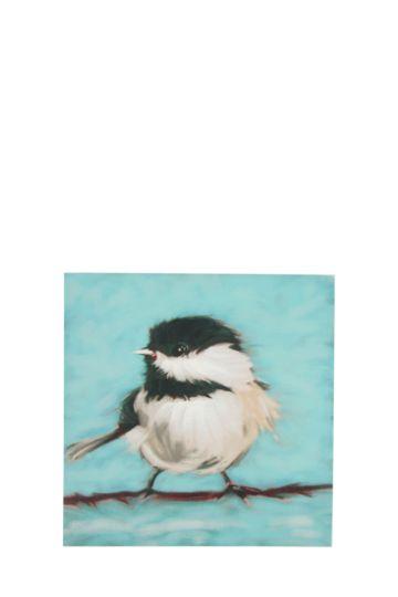 Bird 40x40cm Wall Art