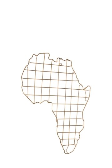 Wire Africa Wall Art
