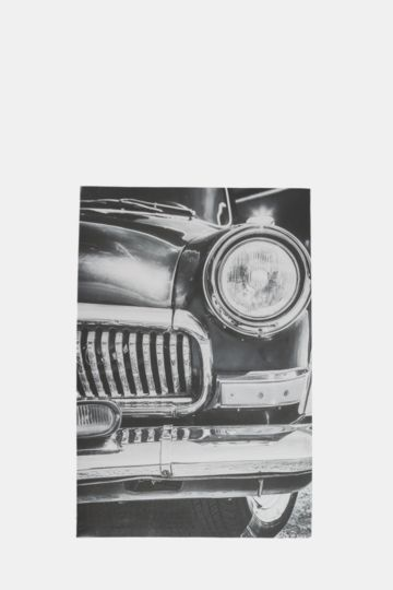 Vintage Close Up Car 40x60cm Wall Art