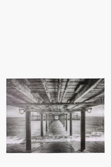 Under The Bridge 120x90cm Wall Canvas