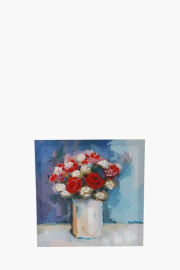 Flower Vase 40x40cm Wall Art