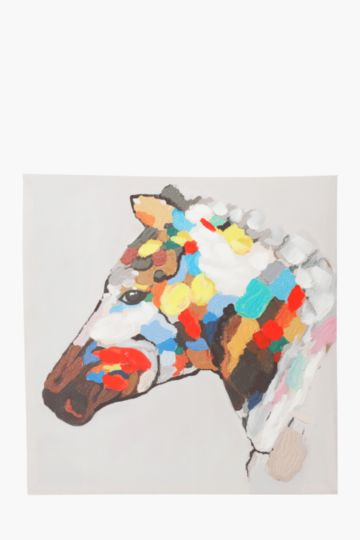 Zebra 60x60cm Wall Art