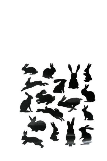Bunny Vinyl Wall Art