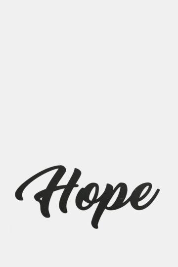 Vinyl Hope Small Wall Art
