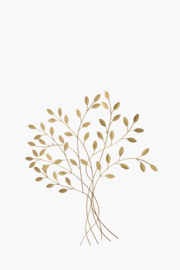 Dimensional Leafy Tree Wall Art