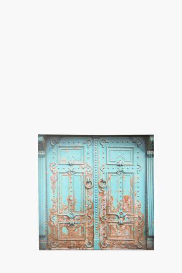 Vintage Doors 100x100cm Wall Art