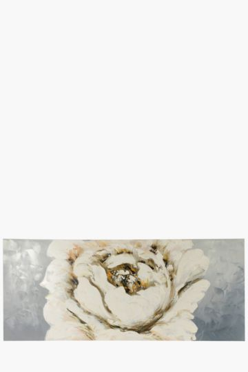 100% Hand Painted Flower 170x70cm Wall Canvas