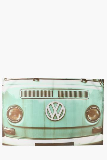Vintage Vw Kombi 60x90cm Wall Canvas