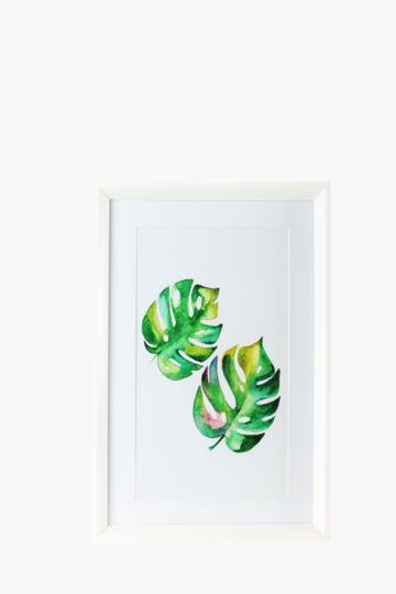 Framed Floral 40x60cm Wall Art