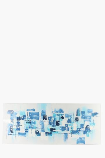 100% Hand Painted Abstract 170x70cm Wall Canvas