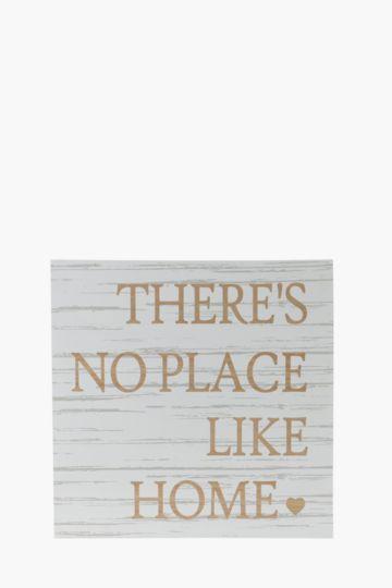 Script Wooden Plaque
