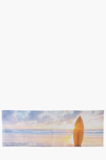 Sunrise Surf 30x90cm Wall Art