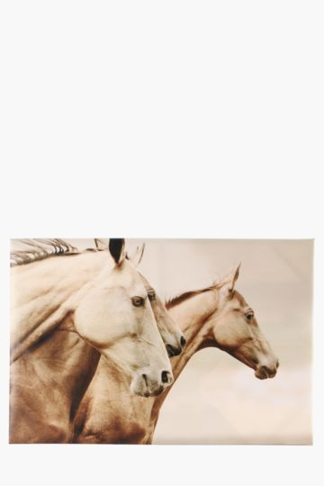 Running Horses 60x90cm Wall Canvas