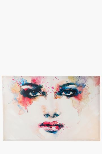 Painted Lady 60x90cm Wall Canvas