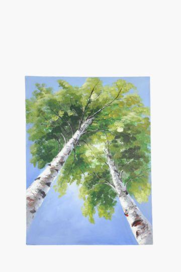 Trees 120x90cm wall canvas